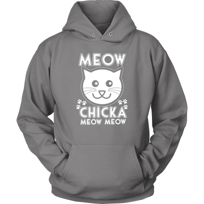 Meow Chicka Meow Meow Hoodies - Just Love Cats