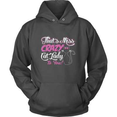 Crazy Cat Lady Hoodies - Just Love Cats