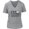 Cat Ladies Unite! V-Neck - Just Love Cats