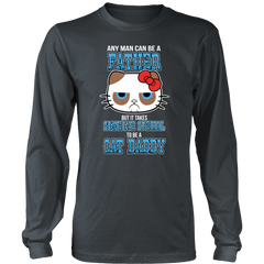 Cat Daddy Long Sleeve Shirt - Just Love Cats