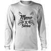 Meow Bitches Black Long Sleeve Shirt - Just Love Cats