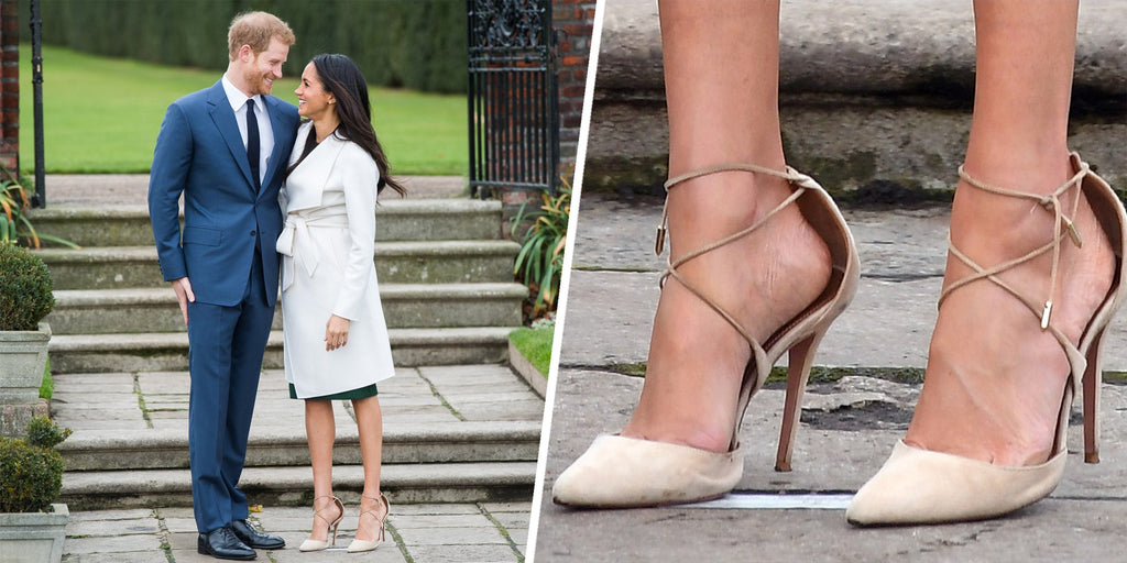 Is this why Meghan, Duchess of Sussex, wears shoes that are too big?