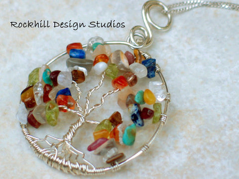 Tree of Life Pendant-Rockhill Design Studios