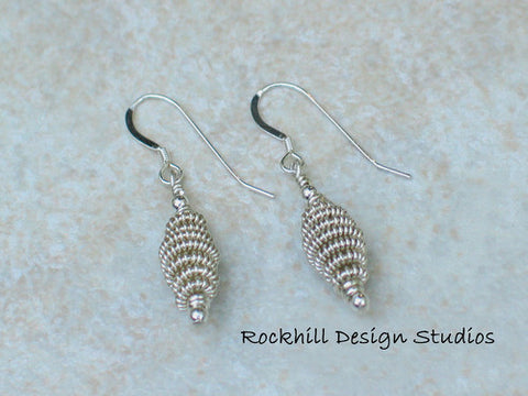 Coil Earrings by Rockhill Design Studios
