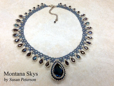 Montana Skies Swarovski® Crystal Necklace