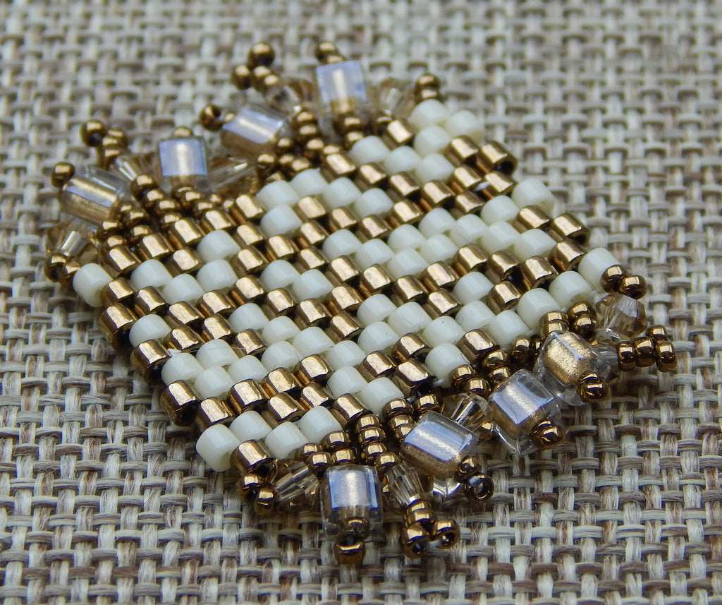 Basic Peyote Kit Bead Soup Bronze & Cream