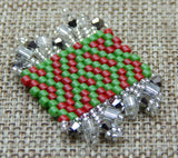 Basic Peyote Kit Bead Soup Red & Green