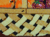 Basket of Fruit Basket Weave Close Up