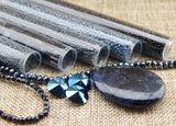 Bead Embroidery Colorways By Nikki Messal Black & Hematite