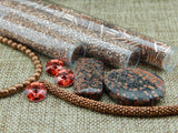 Bead Embroidery Colorways By Nikki Messal Copper & Black