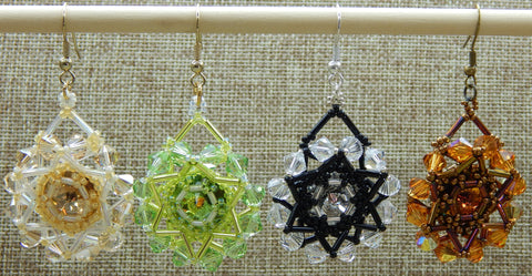 Marigold Earring Group Shot NMDE