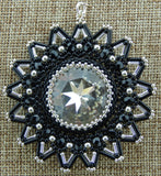 Northstar Pendant Black and Silver NMDE