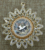 Northstar Pendant Gold and Silver NMDE