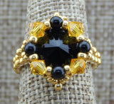 Royal Ring Black & Gold Team Colors Collection NMDE