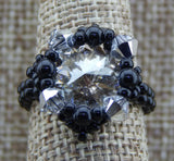 Royal Ring Black & Silver Shade NMDE