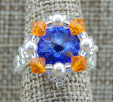 Royal Ring Blue & Orange Team Colors Collection NMDE