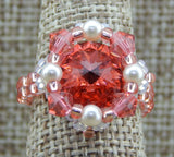 Royal Ring Padparadascha NMDE