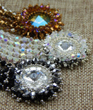 Star Burst Bracelet Group Shot Flat Close Up