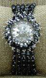 Star Burst Bracelet Black Full
