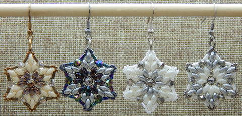 Starflake Earring Group Shot