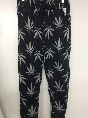 Women long Cotton sweatpants. Size small medium large and extra-large