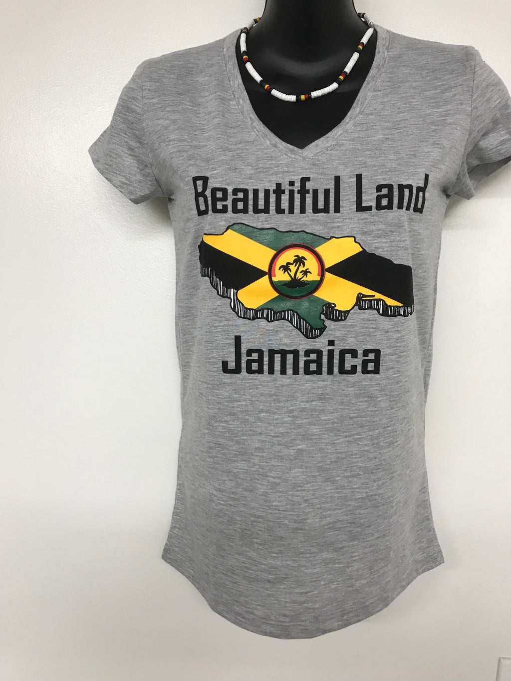 Jamaican woman's T-shirt (Wholesale)