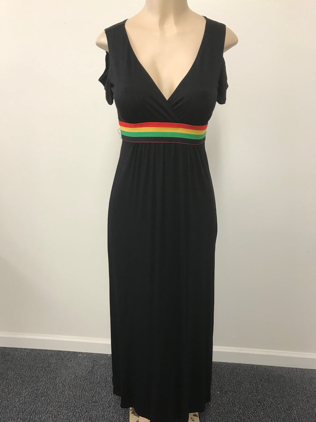 Black long moxie dress