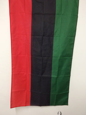 Pan African flags. Marcus Garvey flag.