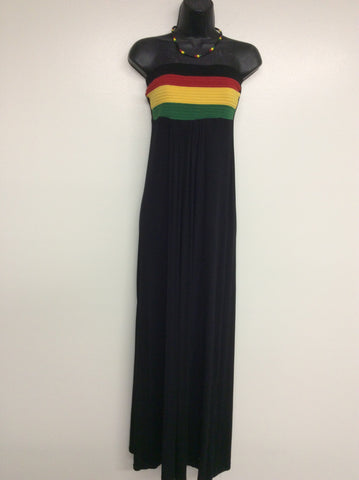 Rastawear women long maxi dress