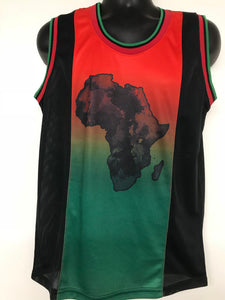 Africa men's tank top (Wholesale)