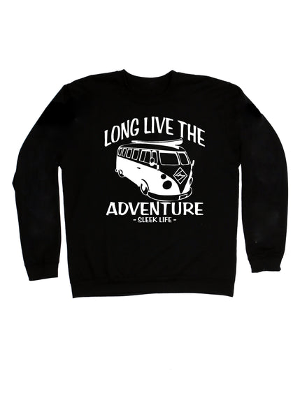 Long Live The Adventure crew neck