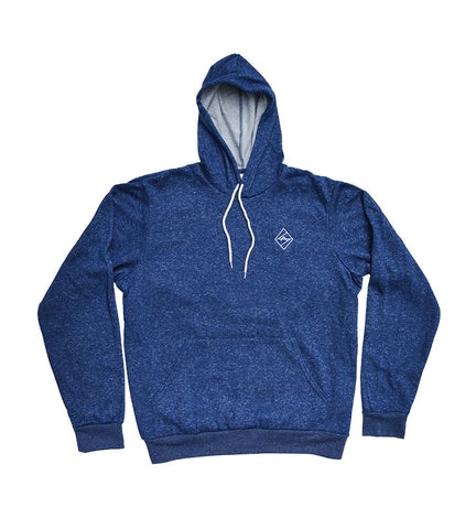 Digital Blue Heather Pullover