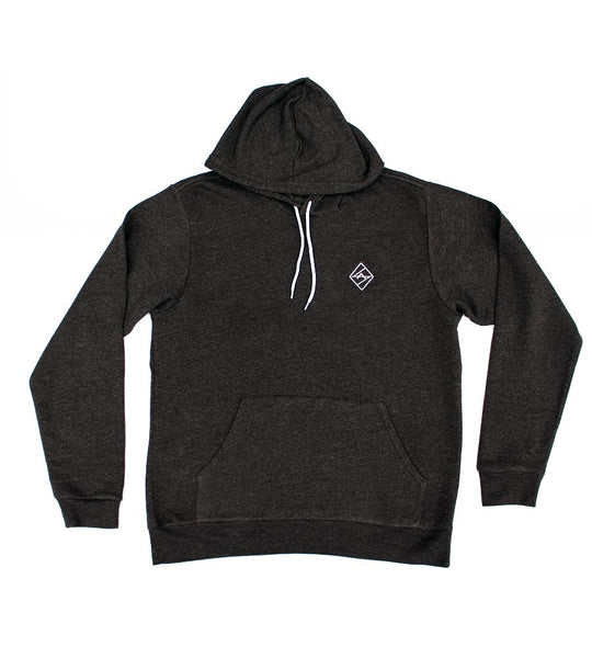 Dark Grey Heather Hoodie