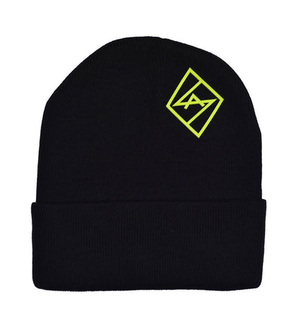 Black All Day Beanie
