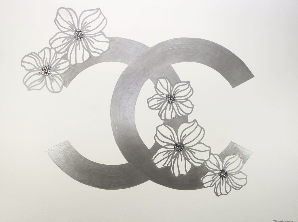 Chanel with Flowers