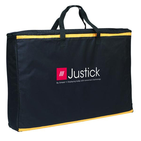 "Justick by Smead, Carry Bag for 3-Panel Table Top Expo Display, 36""W x 27""H, Black (02597)"