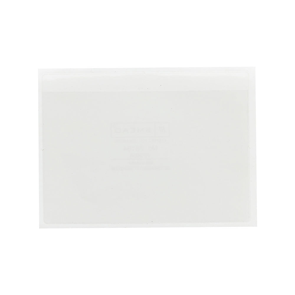 "Smead Self-Adhesive Poly Pocket, 6"" x 4"", Clear, 100 per Box (68164)"