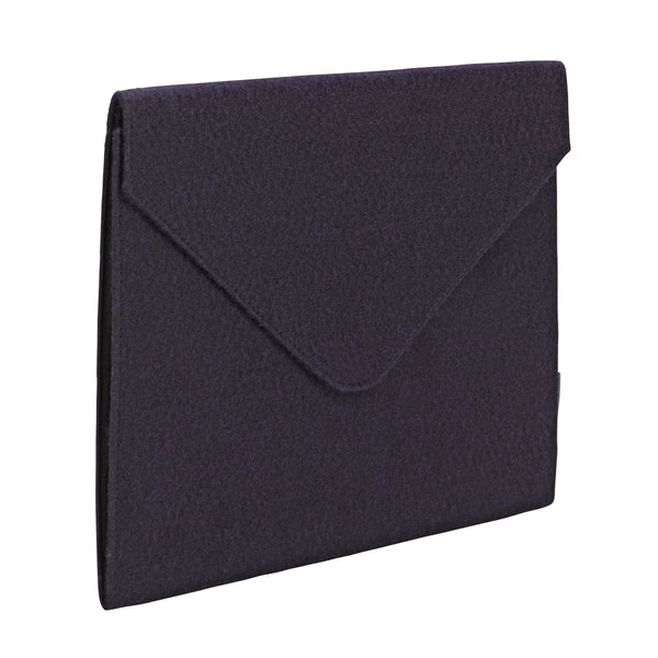 "Smead Soft Touch Cloth Expanding File, 2"" Expansion, Snap Closure, Letter Size, Dark Blue (70922)"