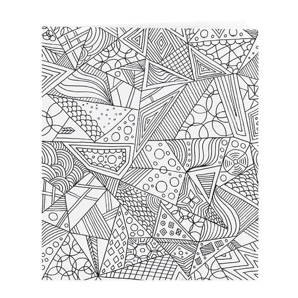 Smead Coloring Two-Pocket Folder, Whimsical Designs, Letter Size, 12 per pack (87951)