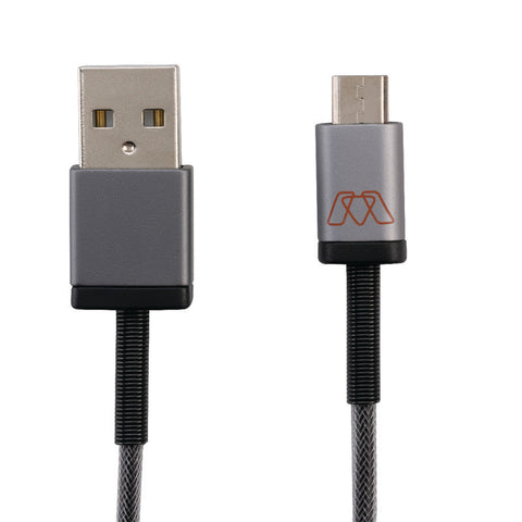 Smead MOS Micro USB Cable, 6 feet, Black (02412)