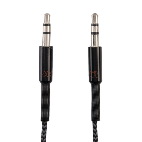 Smead MOS Audio Cable, 3 feet, Male to Male, Black  (02415)