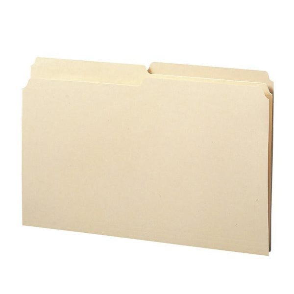 Smead File Folder, 1/2-Cut Tab, Legal Size,  Manila, 100 per Box (15320)