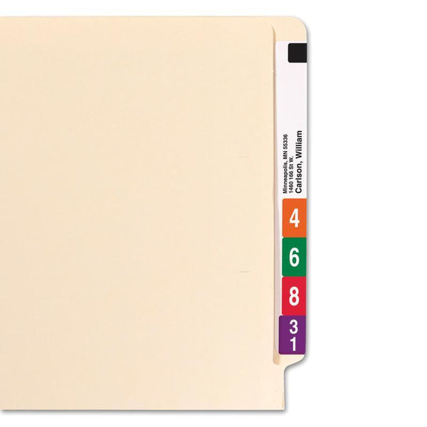 Smead End Tab File Folder, Straight-Cut Tab, Legal Size, Manila, 100 per Box (27100)