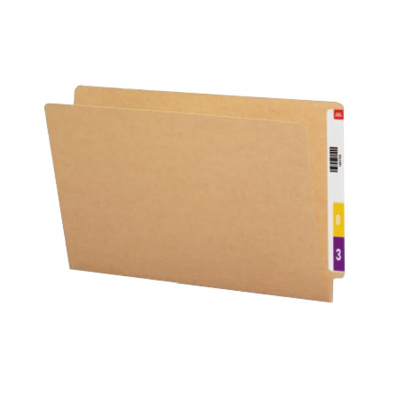 Smead End Tab Folder, Straight-Cut Tab, Legal Size, Kraft, 50 per Box (27400)