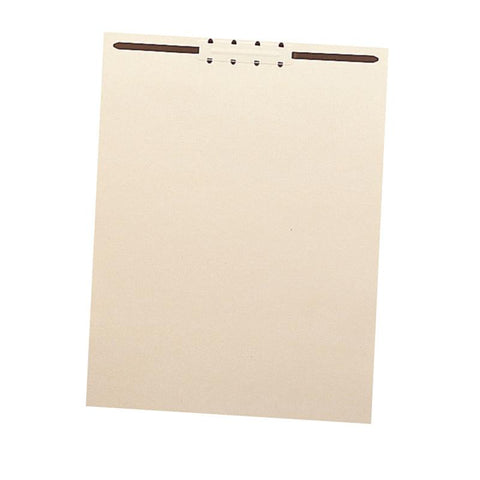 "Smead Manila File Backs with 2"" Fastener, Letter Size, Manila, 100 per Box (35511)"