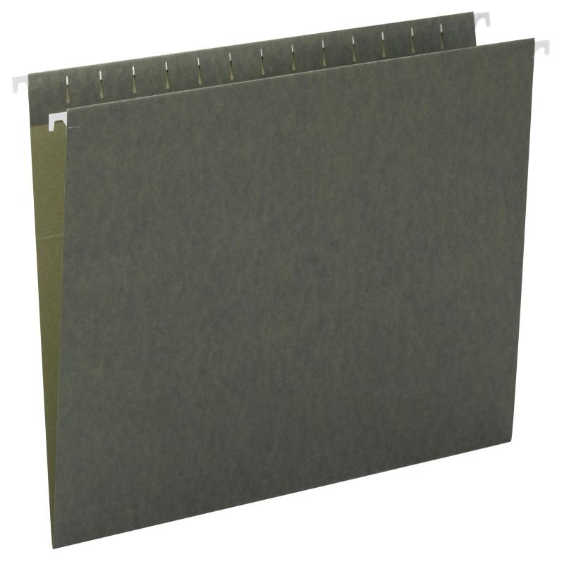 Smead Hanging File Folder, Legal Size, Standard Green, 25 per Box (64110)