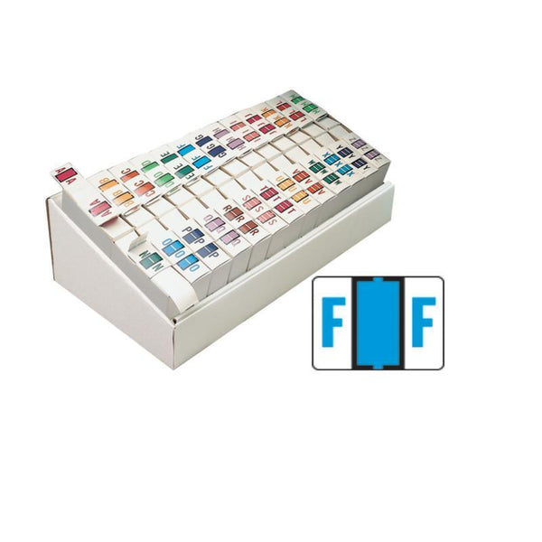 Smead BCCR Bar-Style Color-Coded Alphabetic Label, A-Z, Label Roll, Assorted Colors  (67070)