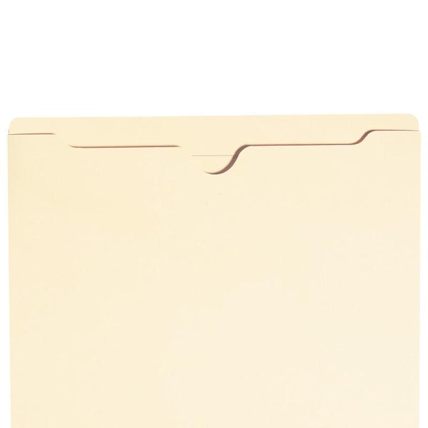 Smead File Jacket, Reinforced Straight-Cut Tab, Flat, Letter Size, Manila, 25 per Pack (75519)