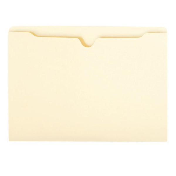 Smead File Jacket, Flat-No Expansion, Legal Size, Manila, 100 per Box (76410)