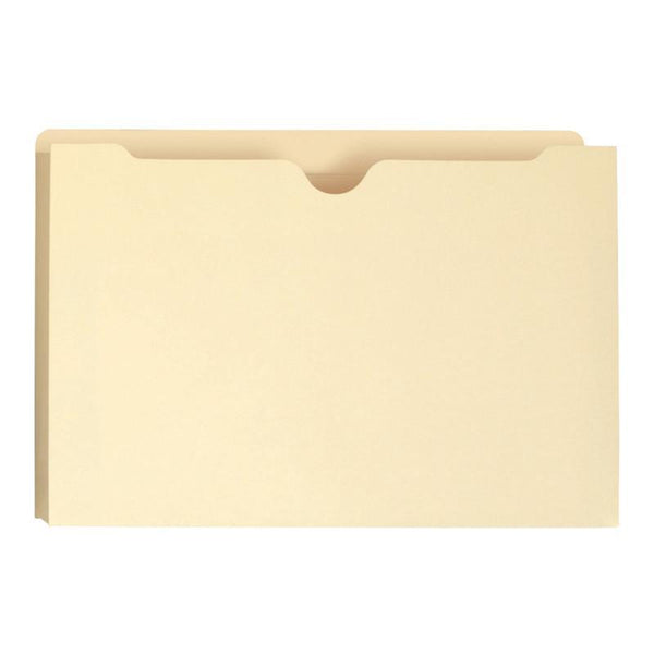 "Smead File Jacket, Reinforced Tab, 1"" Expansion, Legal Size, Manila, 50 per Box (76520)"